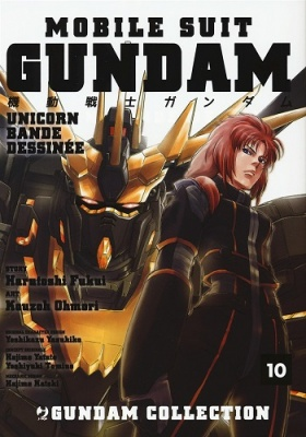 GUNDAM UNICORN - BANDE DESSINEE 10