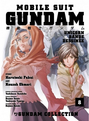 GUNDAM UNICORN - BANDE DESSINEE 8