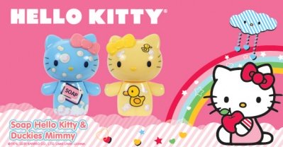 HELLO KITTY MINI FIGURE DA COLLEZIONE SET 2 PZ.