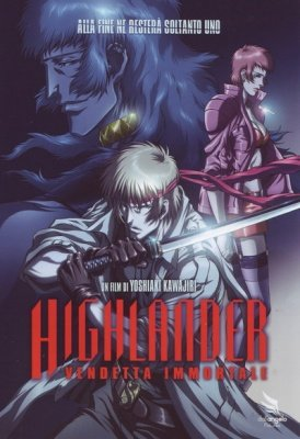 HIGHLANDER VENDETTA IMMORTALE - DVD