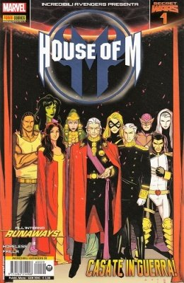 INCREDIBILI AVENGERS 29 - INCREDIBILI AVENGERS PRESENTA HOUSE OF M 1 - SECRET WARS 1