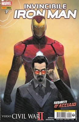 IRON MAN 43 - INVINCIBILE IRON MAN 7