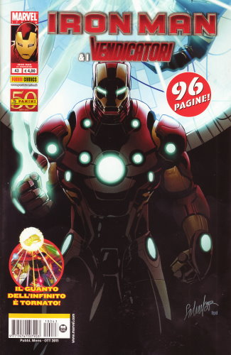 IRON MAN & I VENDICATORI 43