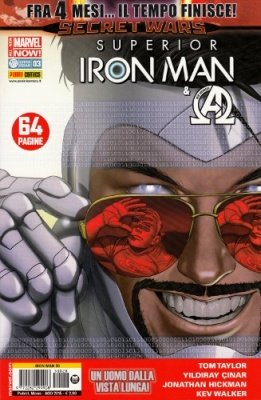 IRON MAN & NEW AVENGERS 28 - SUPERIOR IRON MAN 3