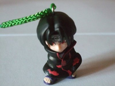 ITACHI GASHAPON CELLULAR STRAP