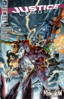 JUSTICE LEAGUE N. 11