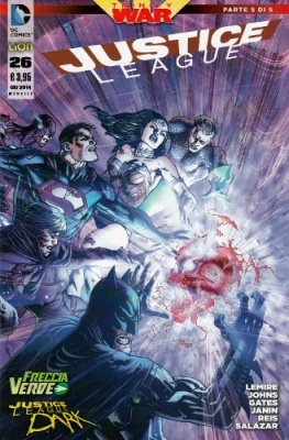 JUSTICE LEAGUE N. 26