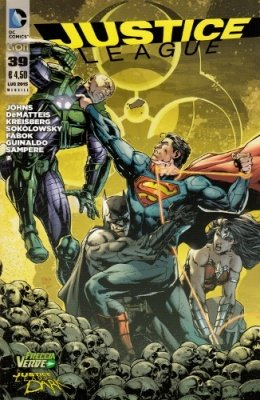 JUSTICE LEAGUE N. 39