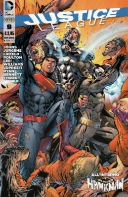 JUSTICE LEAGUE N. 9