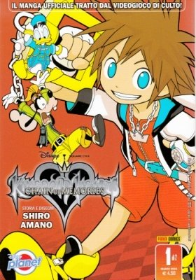 KINGDOM HEARTS CHAIN OF MEMORIES 1