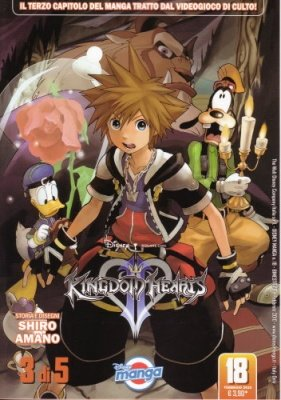 KINGDOM HEARTS II 3 - DISNEY MANGA 18