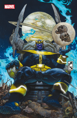 L'ASCESA DI THANOS 1 VARIANT COVER METALLIZZATA - MARVEL WORLD 19