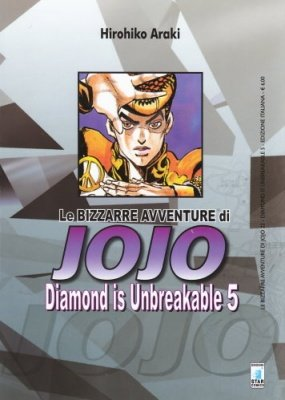 LE BIZZARRE AVVENTURE DI JOJO 22 - DIAMOND IS UNBREAKABLE 5