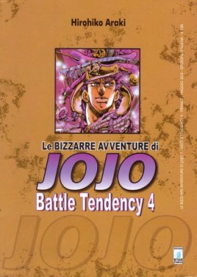 LE BIZZARRE AVVENTURE DI JOJO 7 - BATTLE TENDENCY 4