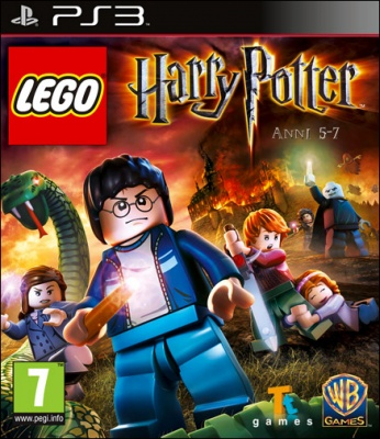 LEGO HARRY POTTER ANNI 5-7 PS3 NUOVO