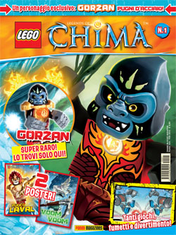 LEGO LEGENDS OF CHIMA MAGAZINE 1