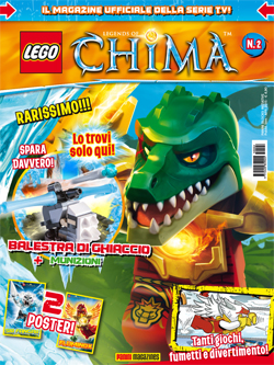 LEGO LEGENDS OF CHIMA MAGAZINE 2