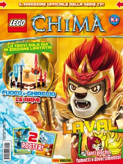LEGO LEGENDS OF CHIMA MAGAZINE 4
