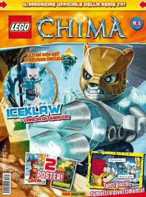 LEGO LEGENDS OF CHIMA MAGAZINE 5