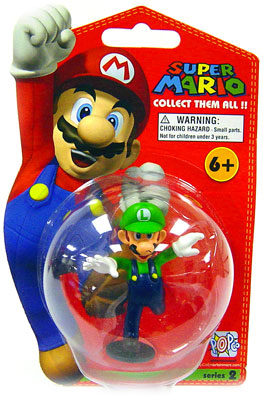 LUIGI SUPER MARIO COLLECTION SERIE 2