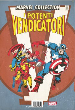 MARVEL COLLECTION 21 - I POTENTI VENDICATORI 1 CON COFANETTO RACCOGLITORE