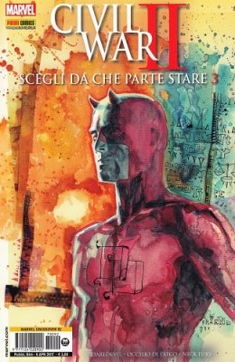 MARVEL CROSSOVER 92 - CIVIL WAR II SCEGLI DA CHE PARTE STARE 3