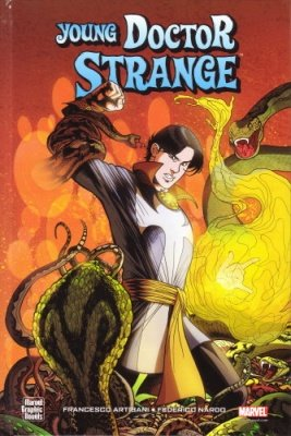 MARVEL GRAPHIC NOVEL IL GIOVANE DR. STRANGE