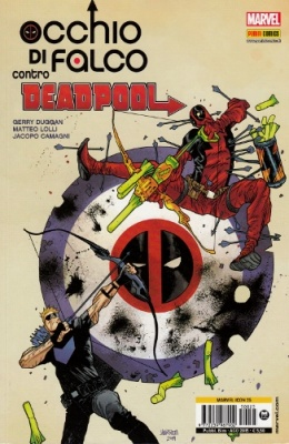 MARVEL ICON 25 - OCCHIO DI FALCO CONTRO DEADPOOL