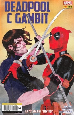"MARVEL ICON 31 - DEADPOOL C GAMBIT - LA ""C"" STA PER ""CONTRO"""