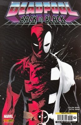 MARVEL ICON 32 - DEADPOOL BLACK IN BLACK