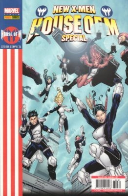 MARVEL MEGA 37 - HOUSE OF M NEW X-MEN SPECIAL
