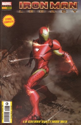 MARVEL MEGA 68 - IRON MAN LEGACY 1