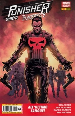 MARVEL MEGA 94 - PUNISHER CONTRO THUNDERBOLTS