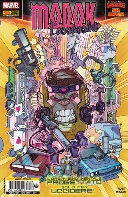 MARVEL MEGA 98 - MODOK L'ASSASSINO