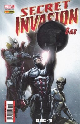 MARVEL MINISERIE 100 - SECRET INVASION 8 (DI 8)
