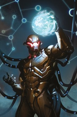 MARVEL MINISERIE 139 VARIANT COVER METAL - AGE OF ULTRON 1