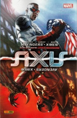 MARVEL MINISERIE 157 - AVENGERS & X-MEN AXIS COVER INVERSIONE 1