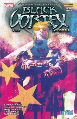 MARVEL MINISERIE 162 - GUARDIANI DELLA GALASSIA & X-MEN BLACK VORTEX OMEGA COVER COSMICA