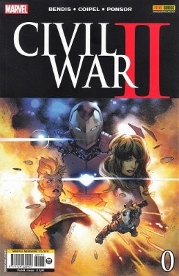 MARVEL MINISERIE 175 - CIVIL WAR II 0