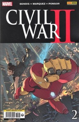 MARVEL MINISERIE 177 - CIVIL WAR II 2