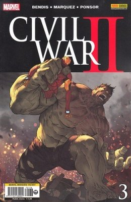 MARVEL MINISERIE 178 - CIVIL WAR II 3