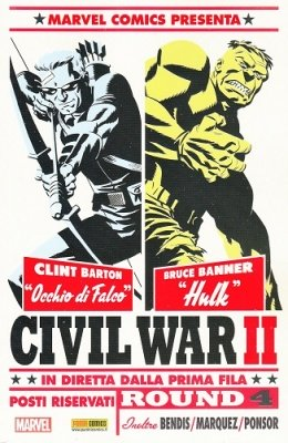 MARVEL MINISERIE 179 - CIVIL WAR II 4 VARIANT COVER SUPER FX DI MIKE CHO