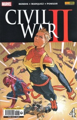 MARVEL MINISERIE 179 - CIVIL WAR II 4