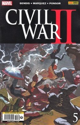 MARVEL MINISERIE 180 - CIVIL WAR II 5