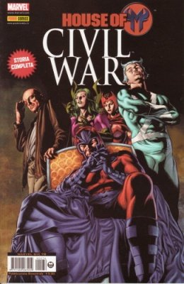MARVEL MIX 76 - HOUSE OF M CIVIL WAR