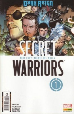 MARVEL MIX 81 - SECRET WARRIORS 1 - DARK REIGN