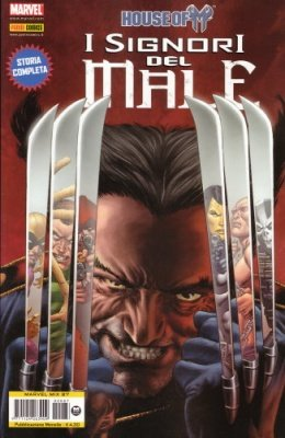MARVEL MIX 87 - HOUSE OF M - I SIGNORI DEL MALE