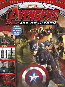 MARVEL MOVIE MAGAZINE AVENGERS AGE OF ULTRON