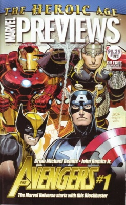 MARVEL PREVIEWS USA 79 MARZO 2010