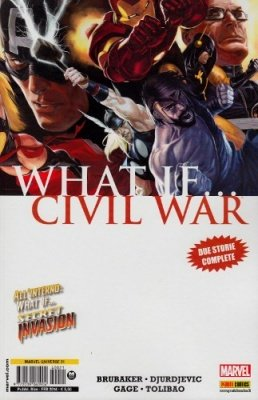 MARVEL UNIVERSE 21 - WHAT IF... CIVIL WAR